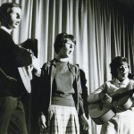 Bill Miles, Diane Enever, Pippa Kellar at a Bentleigh High School Concert.